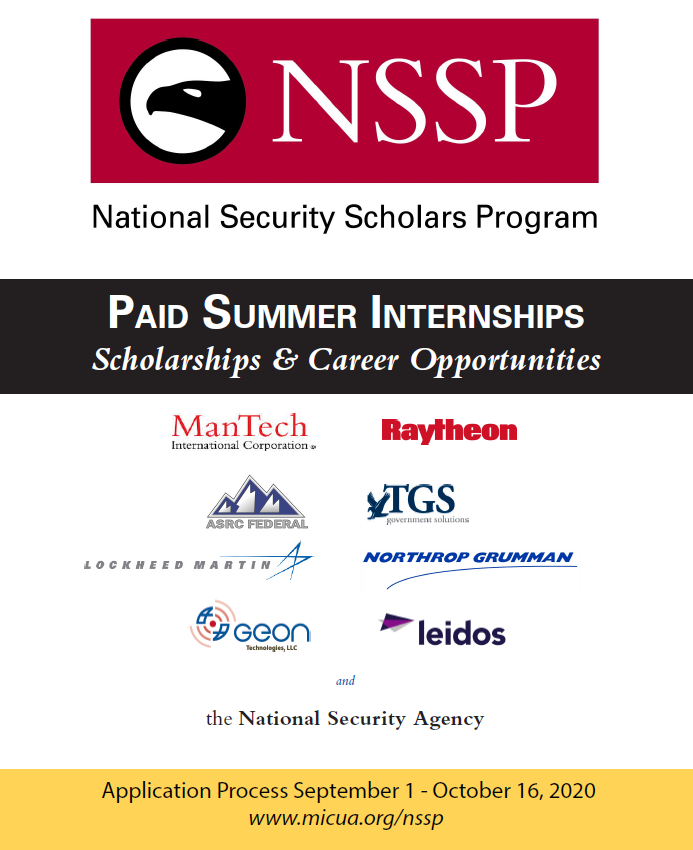 Paid Summer Internships